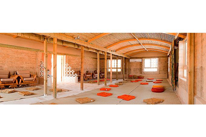 חדר פעילות במואה אואזיס סדנאות נקי מבפנים צום מיצים וניקוי